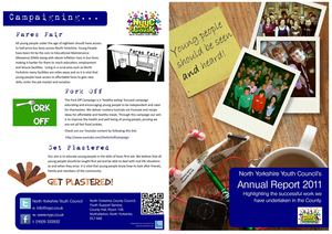 North Yorkshire Youth Council's Annual Report 2011