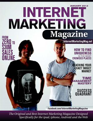 Internet Marketing Magazine - Issue07 - Jan 2012