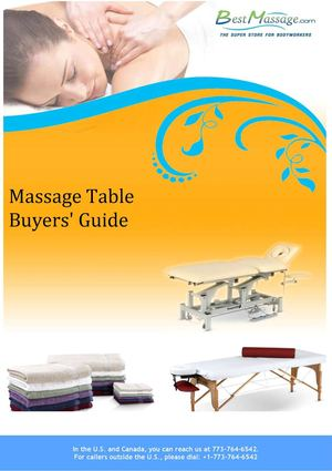 Massage Table Buyers' Guide By BestMassage.com
