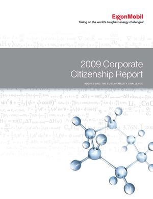 Exxon Mobil | 2009 Corporate Citizenship Report