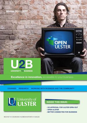 University of Ulster U2B Newsletter Winter 2011/2012