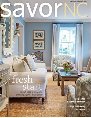 SavorNC Magazine - January/February 2012