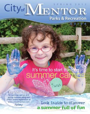 Mentor's Spring 2012 Parks & Recreation Guide