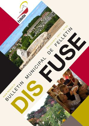 Dis Fuse, bulletin municipal de Felletin - n°45