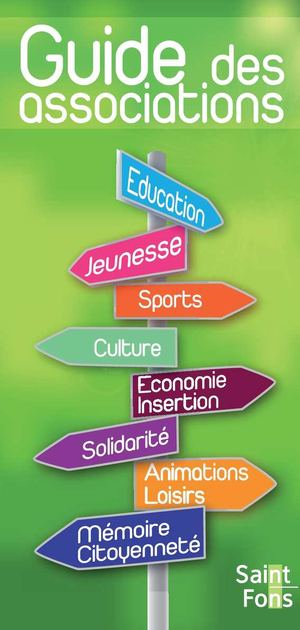 Guide des associations 2011