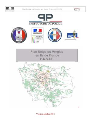 Plan neige ou verglas en Ile-de-France (PNVIF)