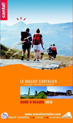 Guide Accueil Massif Cantalien 2012