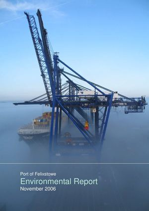 Port of Felixstowe | Environmental Report 2006