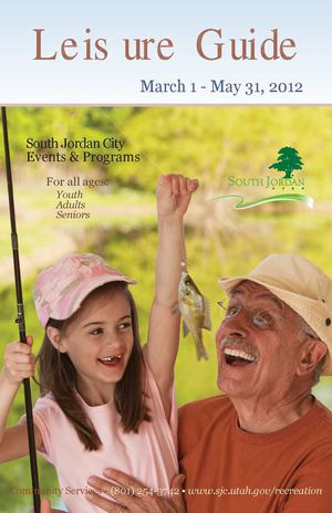 Spring Leisure Guide: March 1 - May 31, 2012