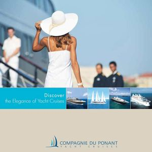 Brochure Elegance of Yacht Cruises
