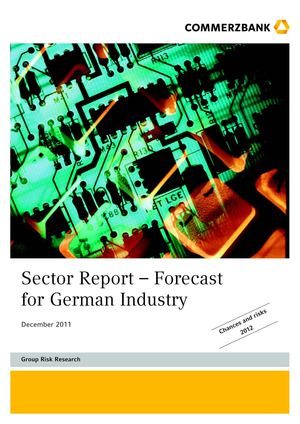 Commerzbank | Sector Report – Forecast for German Industry Dec 2011