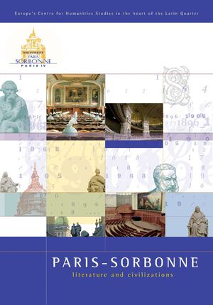 Paris-Sorbonne brochure