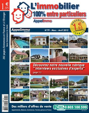 L'immobilier 100% entre particuliers - N°79 - Mars/Avril 2012