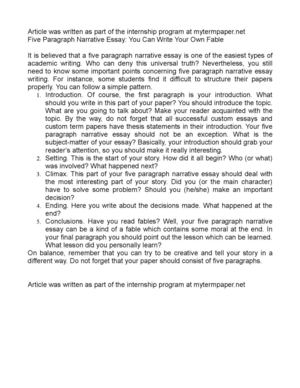 five paragraph essay short story In writeworkcom retrieved 11:12, december 12, 2017, from http://wwwwriteworkcom/essay/suspense-story-5-paragraph more creative writing short stories an.