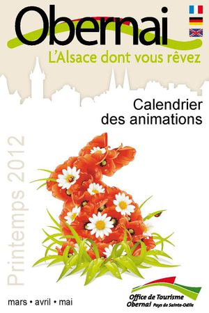 Les animations du Printemps à Obernai 2012