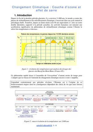 Calam o le changement climatique en 4eme expos - Qu est ce que la couche d ozone ...