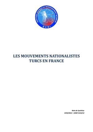 Les ultranationalistes turcs en France