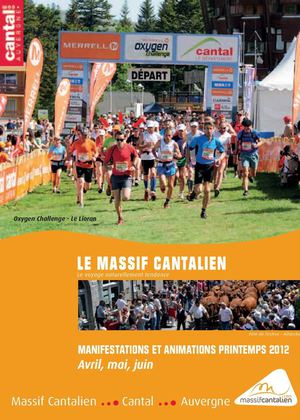 Agenda des animations du Massif Cantalien - Printemps 2012