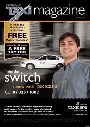 QLD Taxi Mar Apr 2012