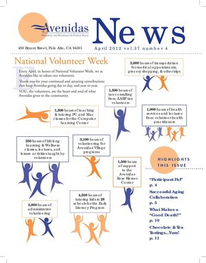 Avenidas Newsletter April 2012