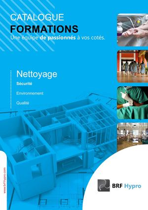 Catalogue formation Nettoyage
