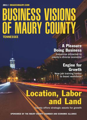 Business Visions of Maury County 2011