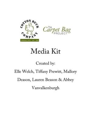 Cotton Duck Company Media Kit
