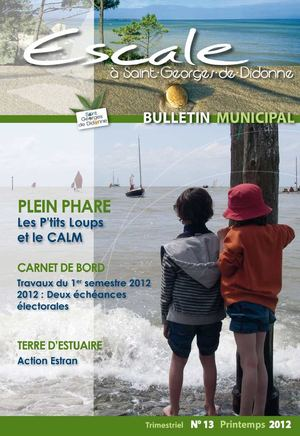 Bulletin municipal n°13 printemps 2012