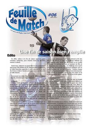 Feuille de Match n°6