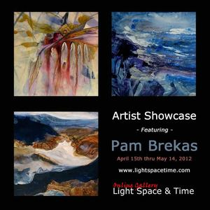 Artist Showcase - Pam Brekas - Event Postcard