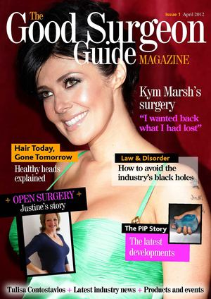 The Good Surgeon Guide Magazine - April 2012 Issue