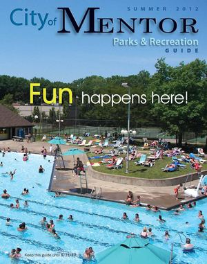 Summer 2012 City of Mentor Parks & Recreation Guide