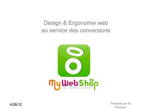 Web design: au service de la conversion.