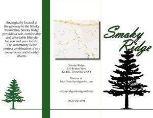 Brochure - Smoky Ridge