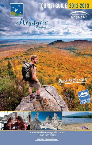 Megantic Region Tourist Guide - 2012-2013