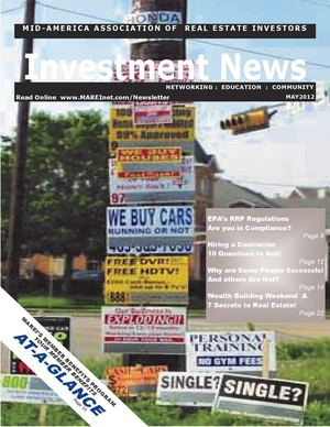 MAREI's Investment News - May 2012