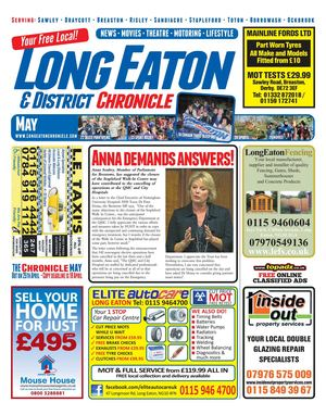 May 2012 Long Eaton Chronicle