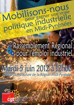Tract Manifestation Toulouse 5 Juin 2012