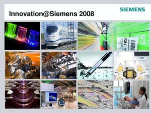 SIEMENS | Innovation@Siemens2008