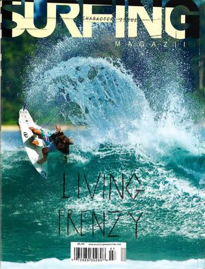 July issue of Surfing Magazine