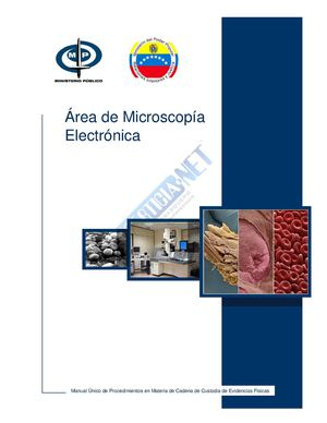 Manual Unico MP Area de microscopia