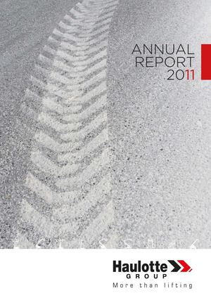Haulotte Group - Annual report 2011