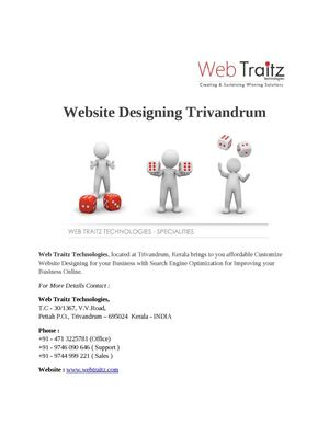 Website Designing Trivandrum