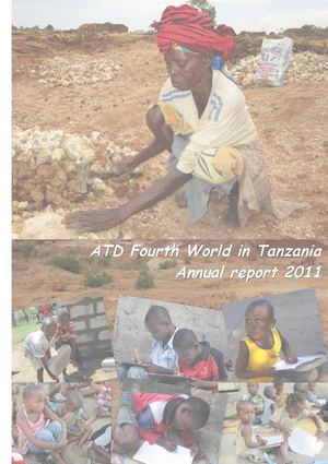ATD Fourth World Tanzania Annual Report 2011