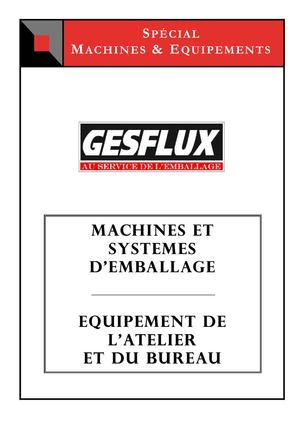 Spécial catalogue Machines & Equipements