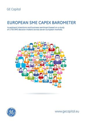 GE Capital Europe | EUROPEAN SME CAPEX BAROMETER