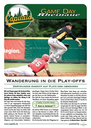 Game Day Rheinaue - Vol. 6 - Bonn Capitals vs. Dortmund Wanderers