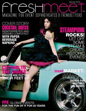 freshmeet magazine spring 2012 issue - for event sophisticates & trendsetters