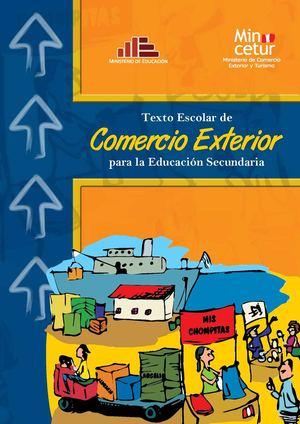 Calam o texto escolar de comercio exterior para for Educacion exterior
