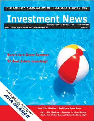 MAREI's Investment News:  June 7th, 2012